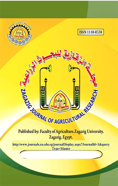 Zagazig Journal of Agricultural Research